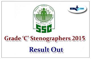 SSC Grade 'C' Stenographers Examination,