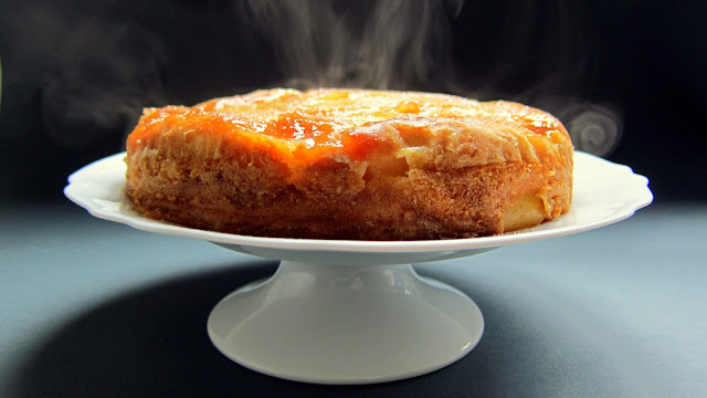 pressure cooker upside-down cake