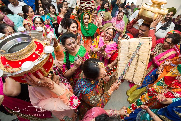 Edmonton Indian Wedding Photography Canada Punjabi Marriage Pictures Sikh Rituals Camrose Jaago