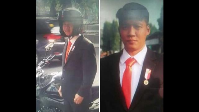 Hanya untuk Pencitraan Jokowi Lecehkan Lambang Negara