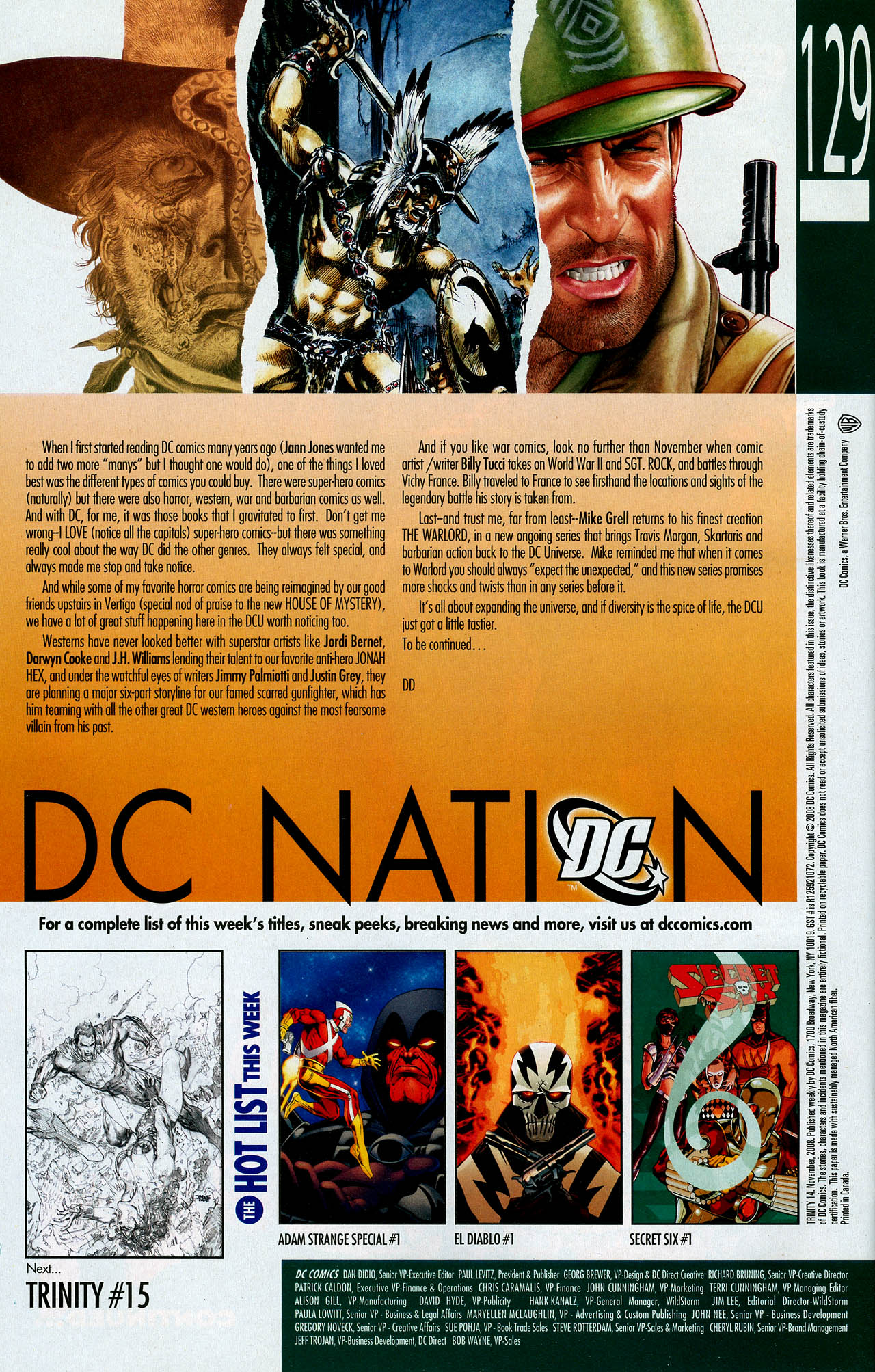 Read online Trinity (2008) comic -  Issue #14 - 32
