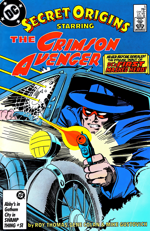 Read online Secret Origins (1986) comic -  Issue #5 - 1