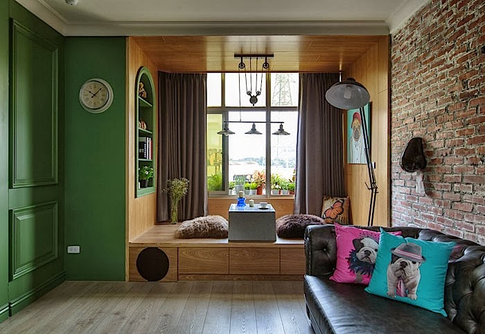Do It Yourself Home Design: Home Interior Design And Decorating Ideas: Green Artistic