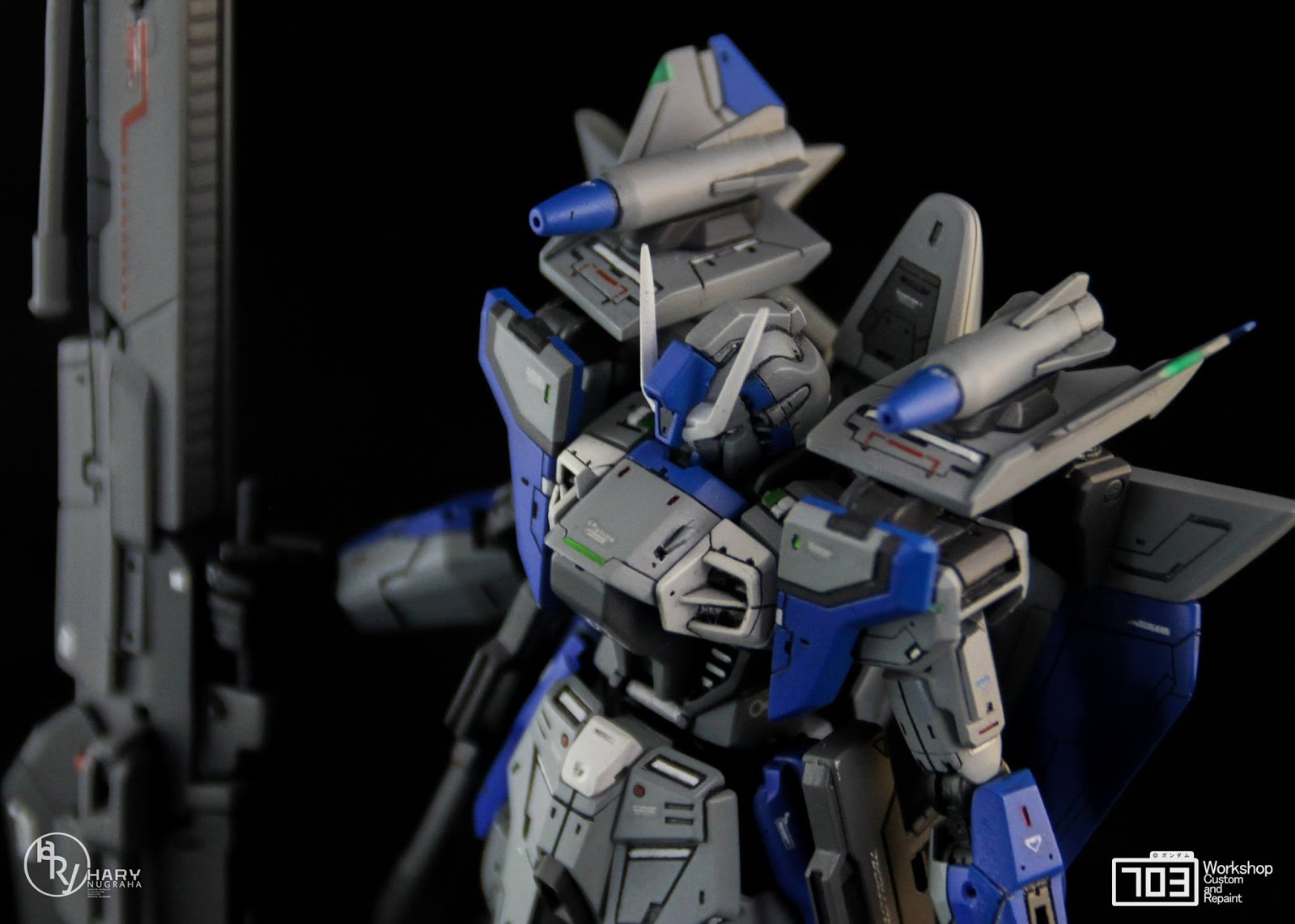 "Custom Build: HGAW 1/144 Gundam Airmaster ""Plus H"""
