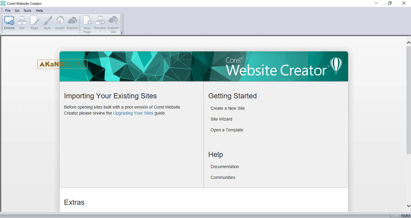 Download Corel Website Creator 15.50.0000.5554 Final Full