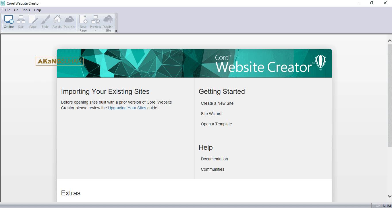 Download Corel Website Creator 15.50.0000.5554 Final Full