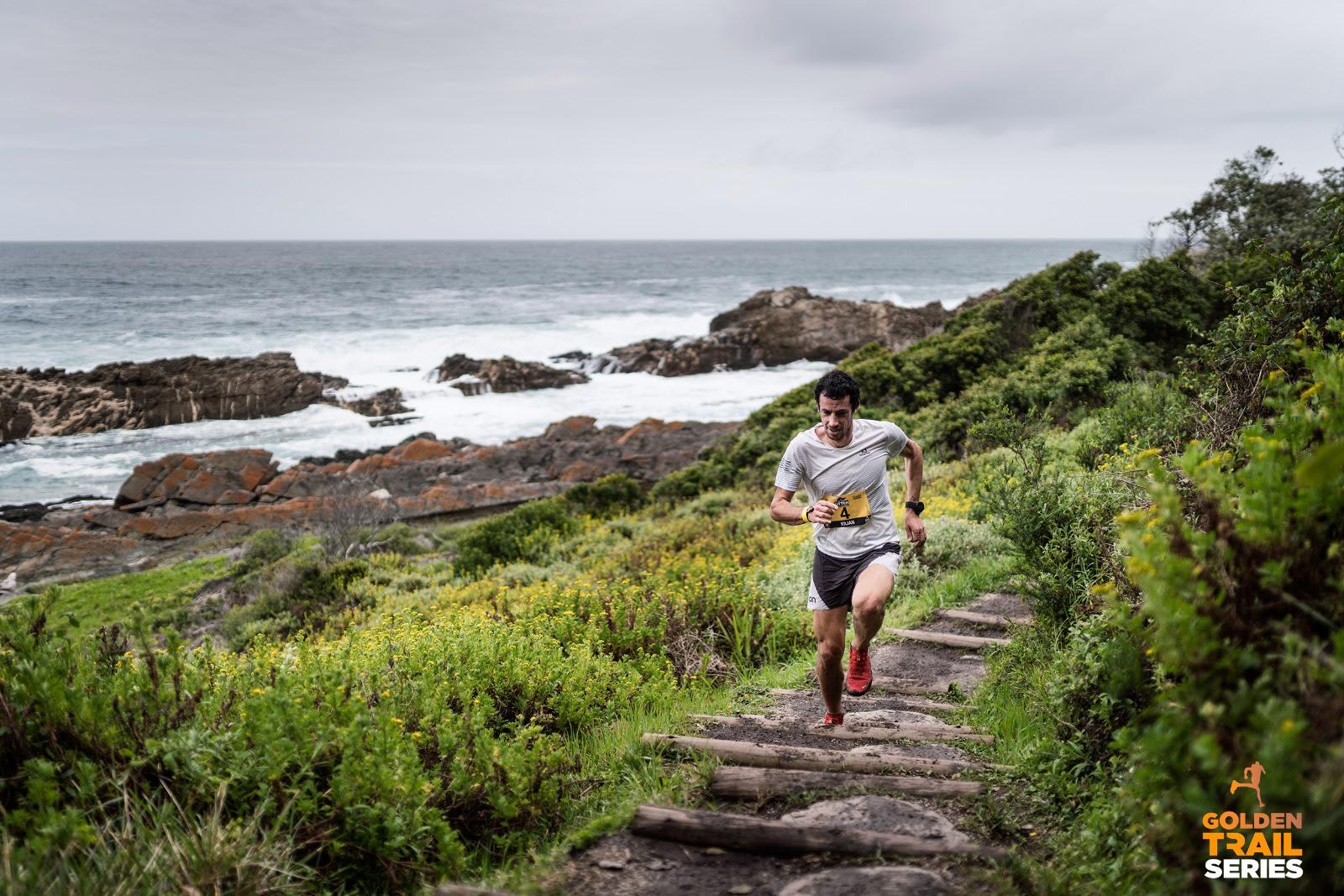 Kilian Jornet tercero en las Golden Trail Series