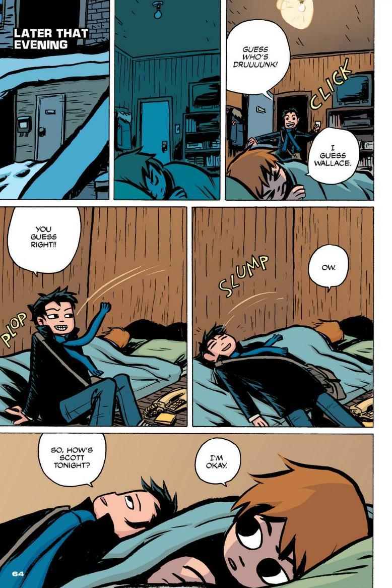 Read online Scott Pilgrim comic -  Issue #1 - 57