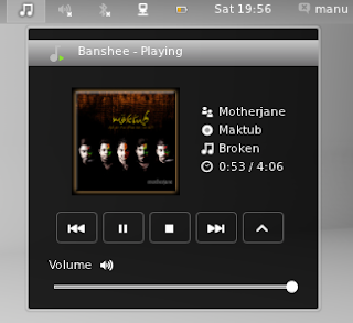 Media Player GNOME Shell extension