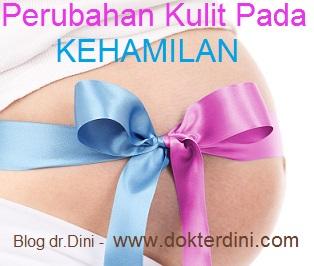 kehamilan, perubahan kulit kehamilan
