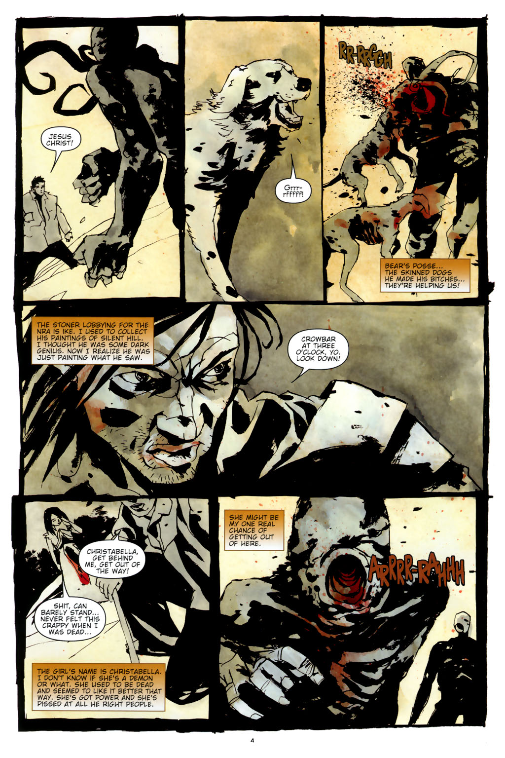 Read online Silent Hill: Dead/Alive comic -  Issue #3 - 6