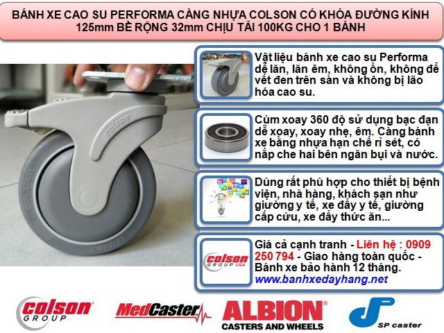 Bánh xe giường bệnh, bánh xe y tế, bánh xe đẩy cấp cứu www.banhxepu.net