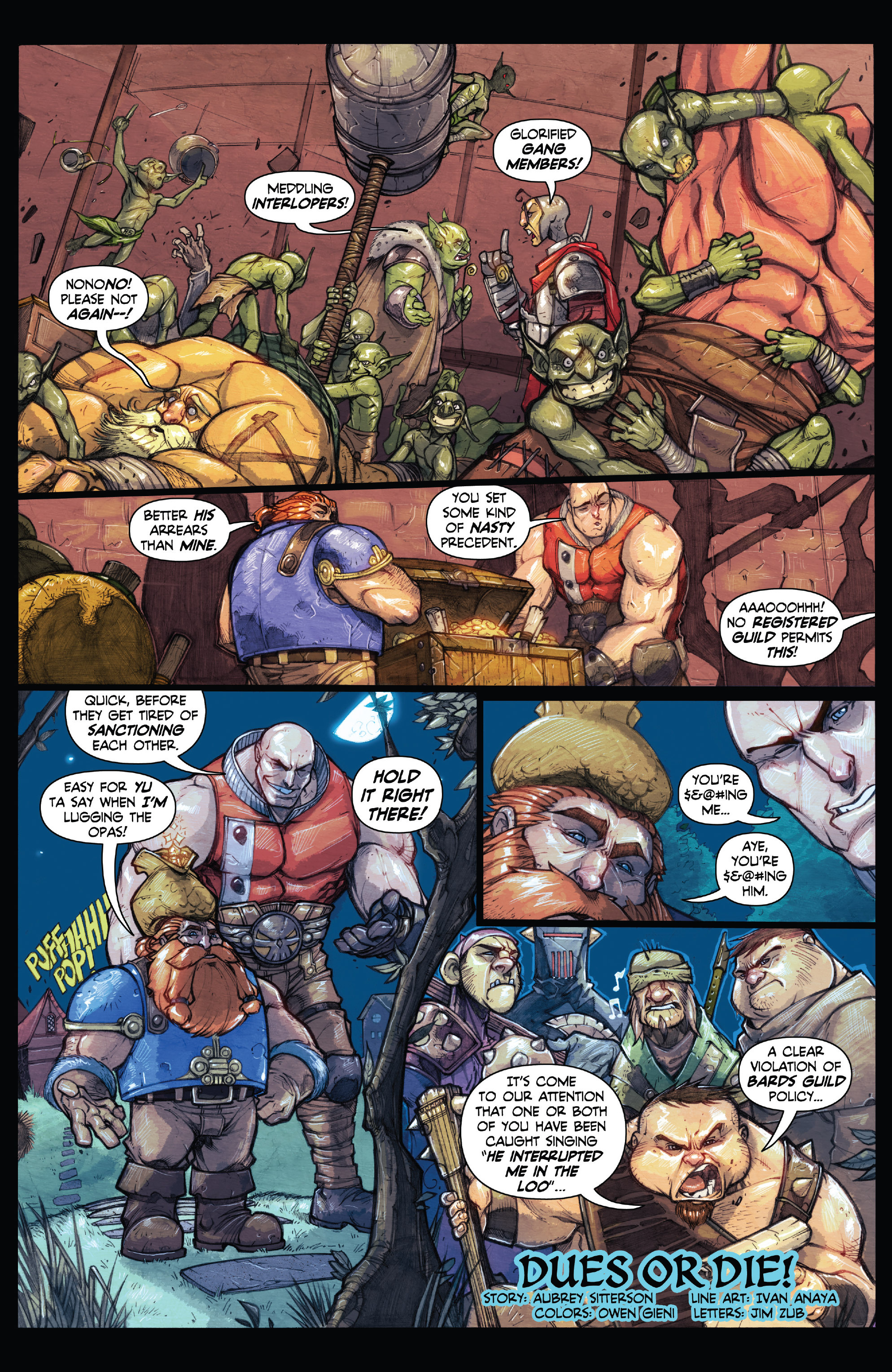 Read online Skullkickers comic -  Issue #18 - 36