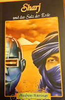 das Cover zeigt einen Roboter und einen Beduinen