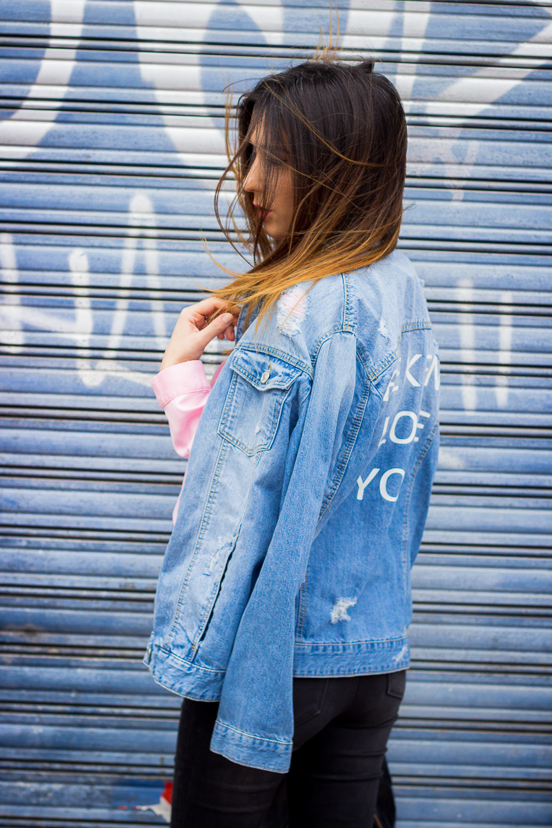 weekend i love you jacket