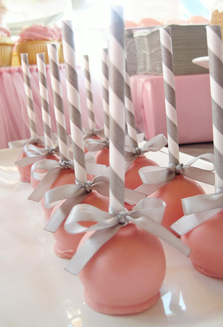 Baby Rattle Cake Balls