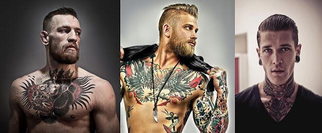 İlginç Erkek Dövme Modelleri 17 Adet