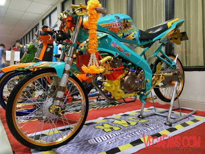 Foto Modifikasi Motor Vixion Thailook