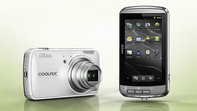 Smartphone Nikon Coolpix S800c, kehebatan Camera DSLR menjadi Smartphone Android