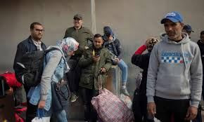 Moroccans-stuck-in-Ceuta-hunger-strike