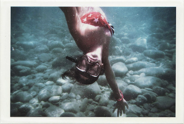 dirty photos - on the island of - photo of underwater portrait of girl