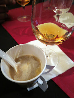 Lobster Bisque paired with 2010 Konzelmann Estate Vidal Icewine