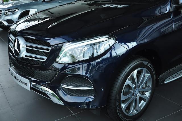 Mercedes GLE 400 4MATIC Exclusive luôn toát lên một vẻ cuốn hút