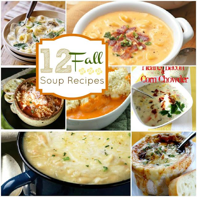 Warm & Tasty Fall Soup Recipes