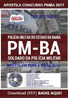Apostila PMBA CFSd 2017 - Soldado da Polícia Militar da Bahia
