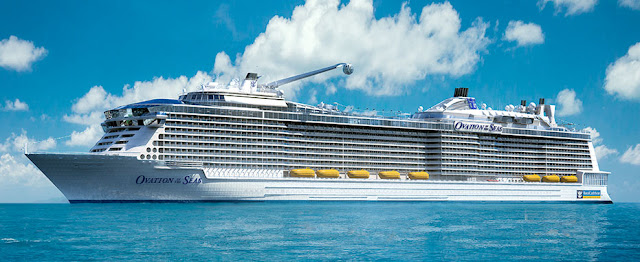 Royal Caribbean's Ovation of the Seas Naming in China June 2017