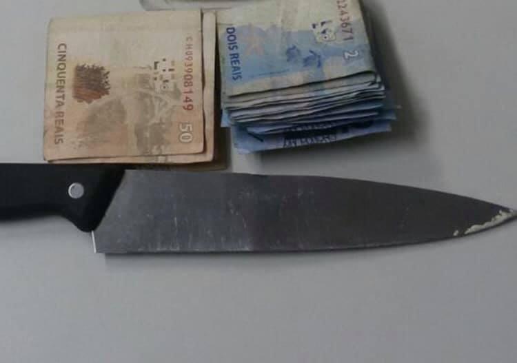 NORTELÂNDIA: Bandidos roubaram mercearia e ameaçaram meter a faca em quem reagisse.