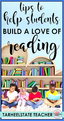 "How can we help students ""Build Reading Lives"" where they have a LOVE OF READING? 3rd, 4th, and 5th grade teachers have the opportunity to inspire students to love reading and to help grow independent readers in our classrooms. Through modeling and setting expectations, it is POSSIBLE! Check out my two biggest tips for creating a love of reading in my students!"