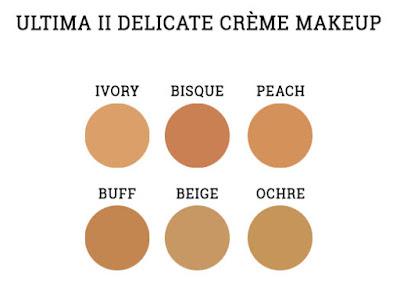 ULTIMA II Delicate Creme Makeup shade