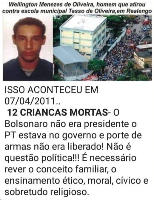 Imagem que circula no Facebook na página República de Curitiba