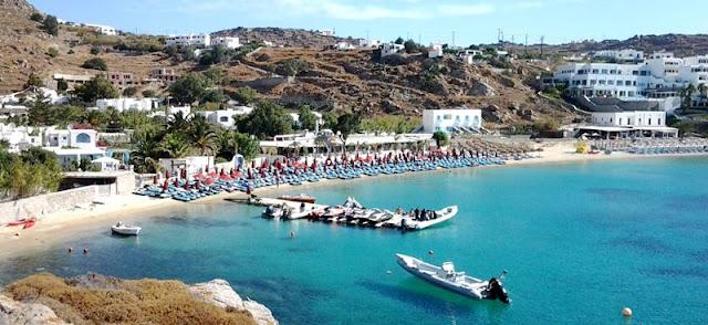 Região de Platis Gialos, Mykonos