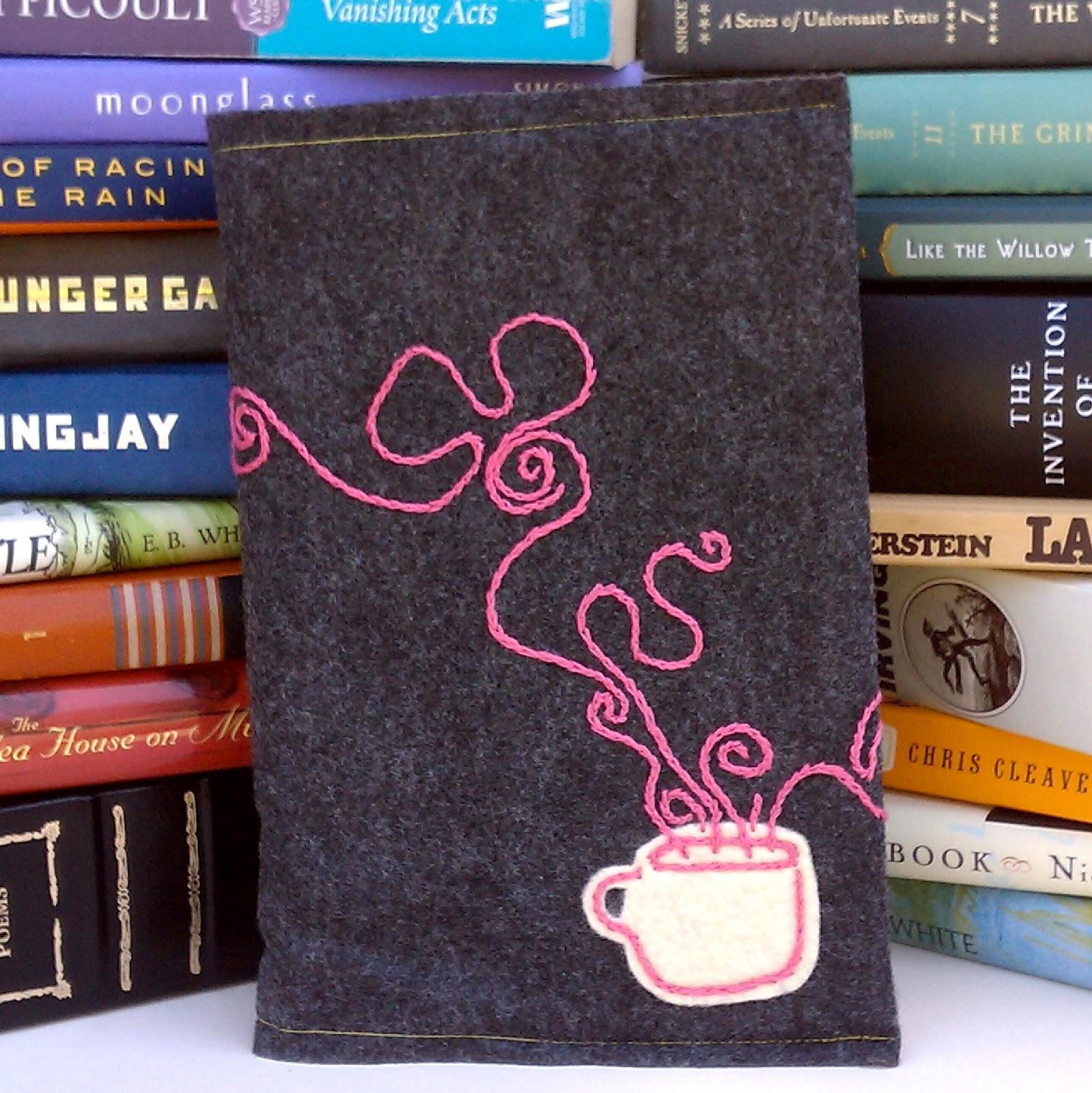 Old Yarn Girls Felt Book Covers From Old Yarn Girls
