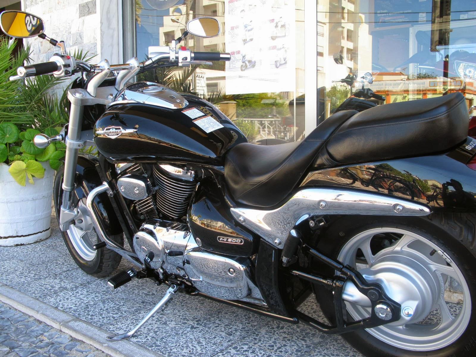 loja das motos suzuki intruder m800. Black Bedroom Furniture Sets. Home Design Ideas