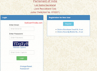 Lok Sabha admit card