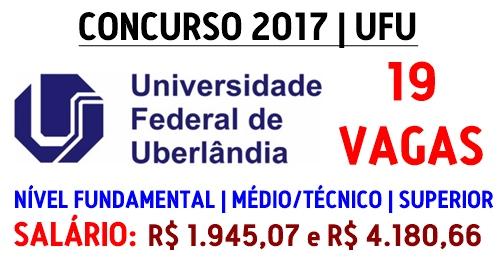 Apostila UFU 2017