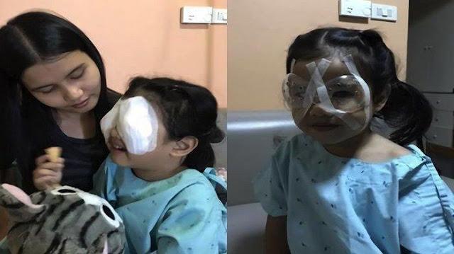 Mata Anak Menjadi Juling, Rosak Dan Hampir Buta Gara Gara Gajet Handphone
