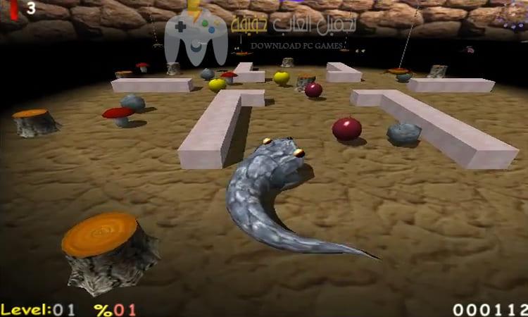 تحميل لعبة الثعبان القديم AxySnake للكمبيوتر