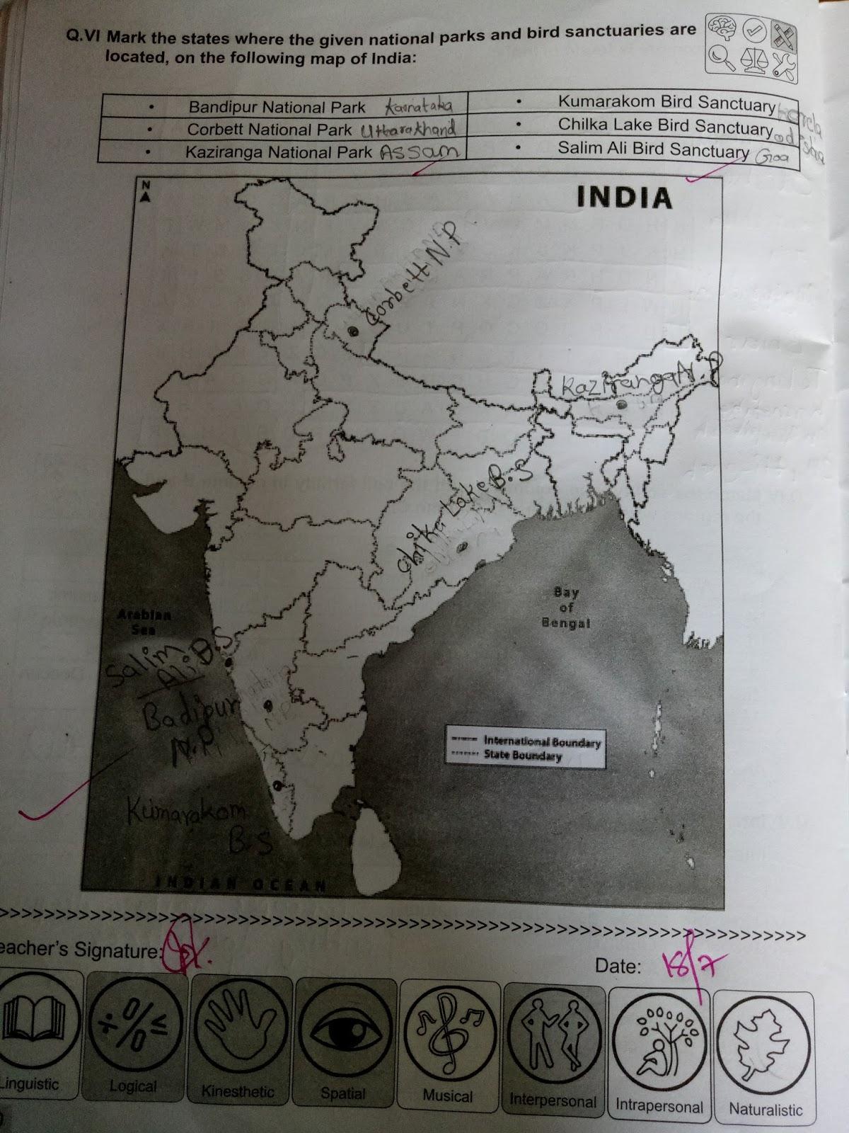 Pis Vadodara Std 4 Evs Natural Resources Of India