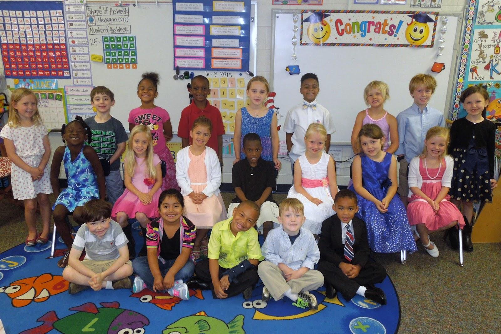 Kindergarten Classroom: Miss Jones' Kindergarten Class: June 2015