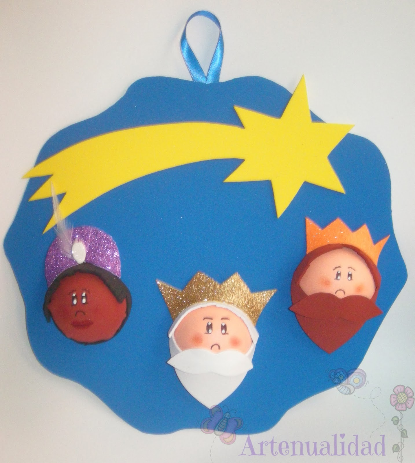 Corona De Navidad Artenualidad