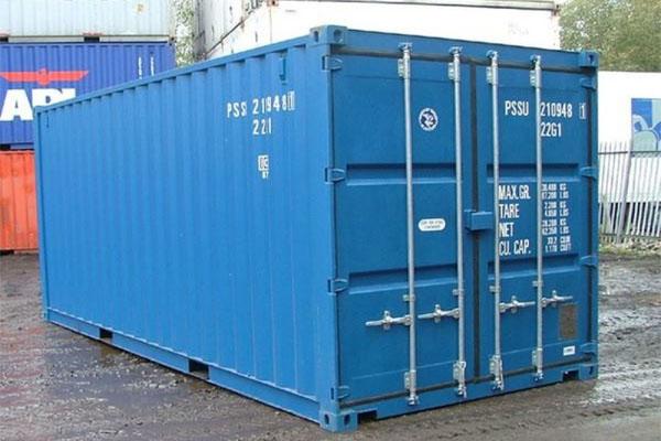 Trọng lượng vỏ container 20 feet