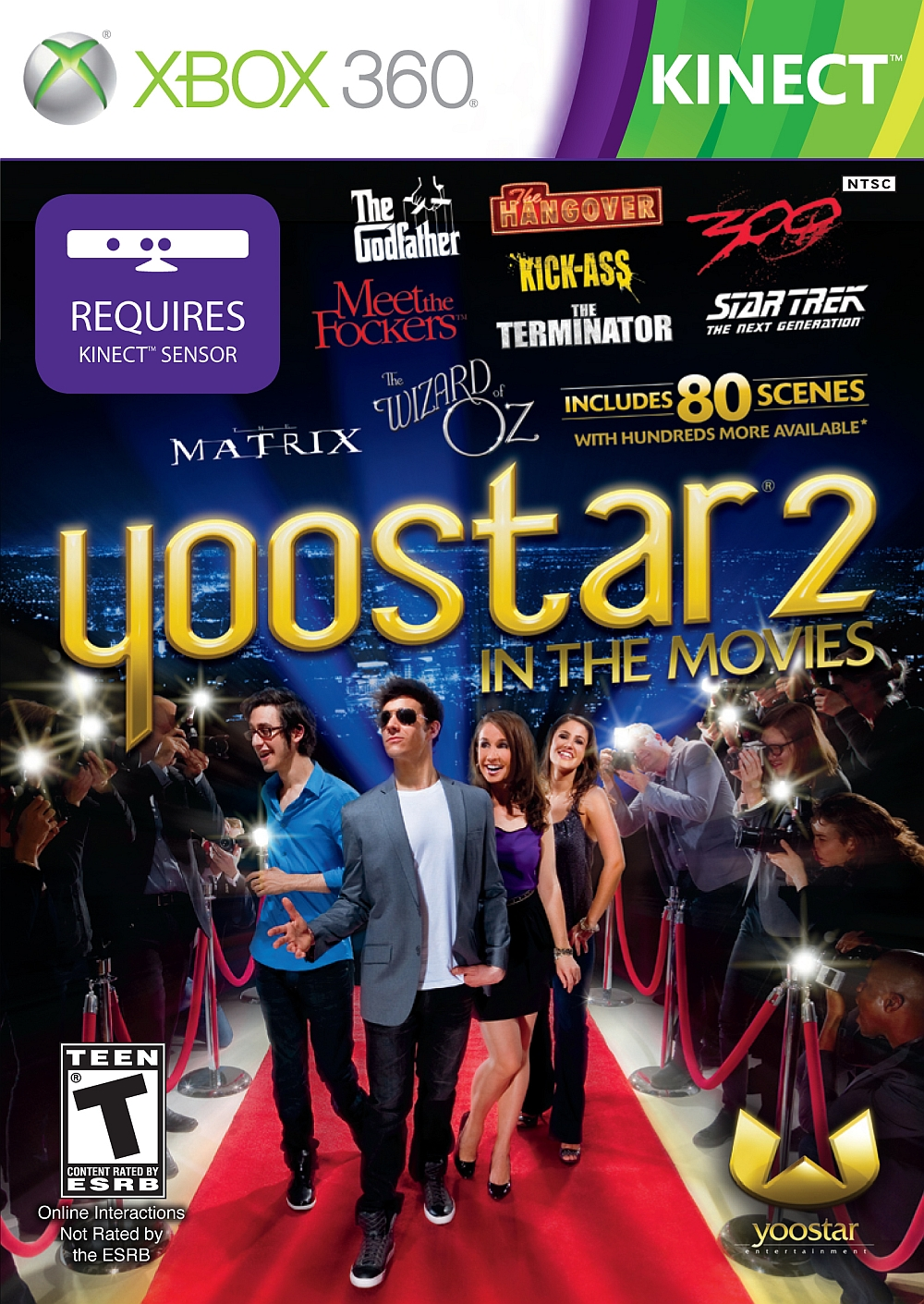 Yoostar 2 X360 US ESRB - YooStar 2 For XBox 360