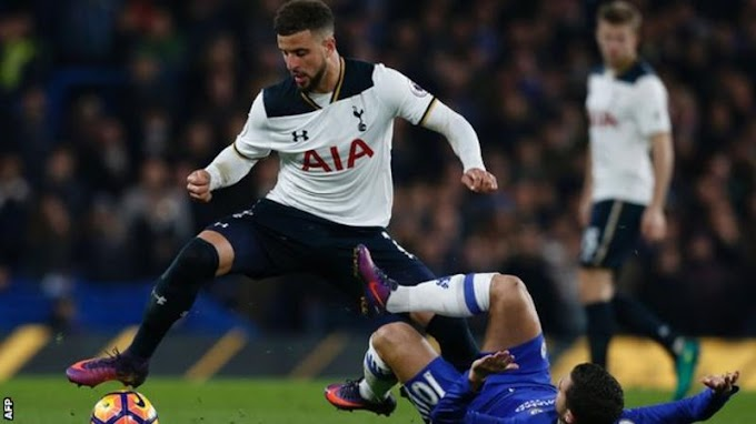 Kyle Walker: Man City sign right-back from Tottenham for £45m plus add-ons
