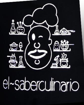 Mi nuevo delantal de cocinero personalizado | El Saber Culinario