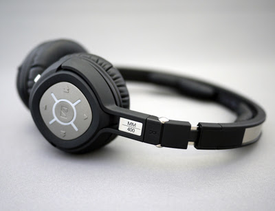 0091c850bbd Sennheiser MM 400 Bluetooth Headphones. My regular searches on audiophile  forums for a pair of portable wireless headphones that sound as good as  wired ...