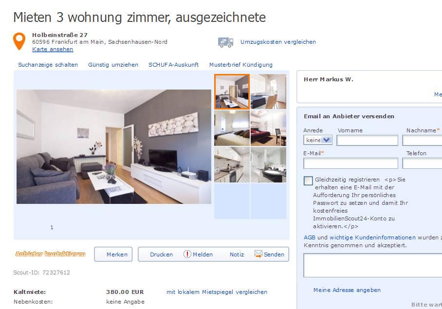 Wohnung Frankfurt Am Main Mieten